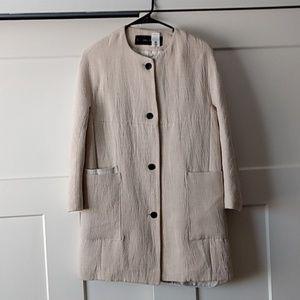 Zara neutral jacket - size Small